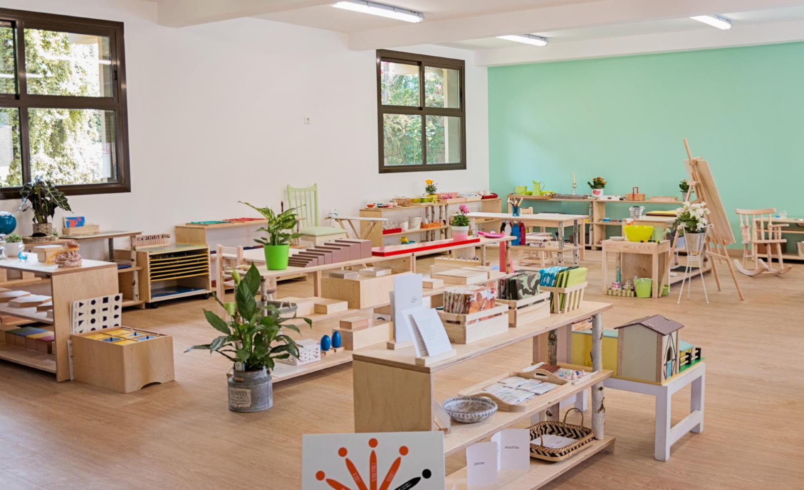 Aula 3 a 6 años: Casa de niños
