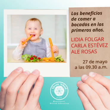 Los beneficios de comer a bocados en los primero años
